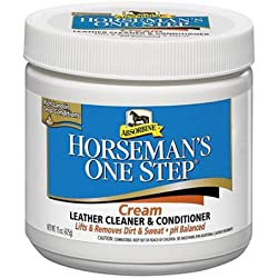 W F YOUNG 428320 075000 Absorbine Horseman'S One Step Leather Cleaner, 15 oz