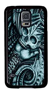 Alien Bio Custom Samsung Galaxy S5/Samsung S5 Case Cover Polycarbonate Black