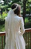 Boho Style Wedding Veil.