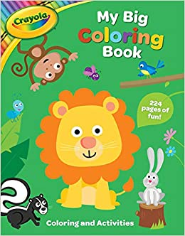 Amazon.com: Crayola My Big Coloring Book (Crayola/BuzzPop ...