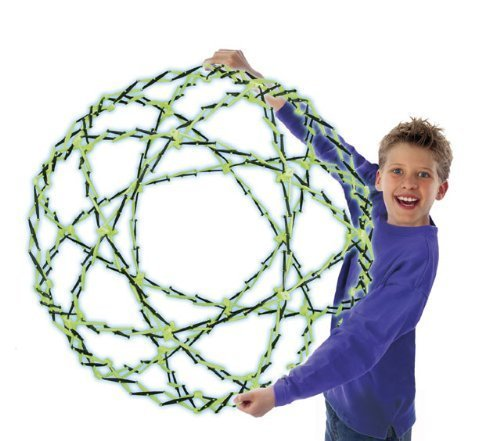 Hoberman Sphere Firefly Glow Toy