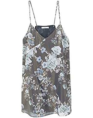 Mango Women's Floral-Print Flowy Dress!