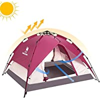 Camel 2-3 Person Rainproof Instant Camping Tent Automatic...