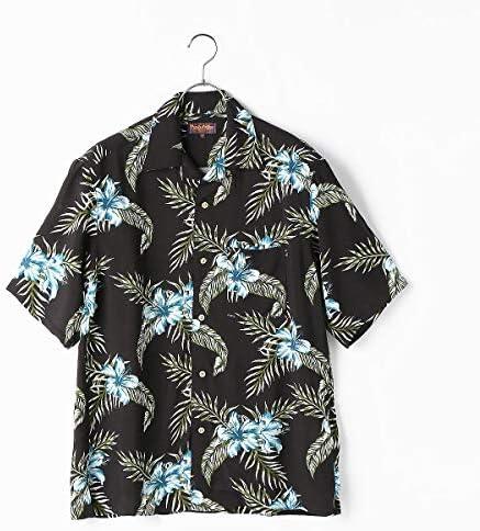 (コムサ イズム) COMME CA ISM ビッグシルエット アロハシャツ オープンカラーシャツ オリジナルプリント 55-06HP30-200