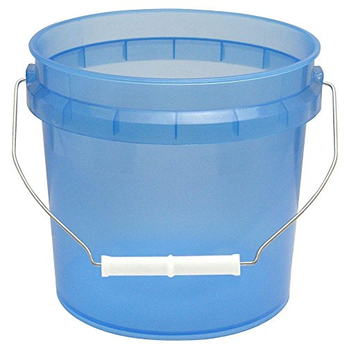 1-gal. Blue Translucent Pail -