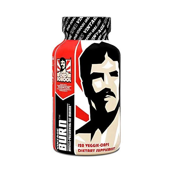 Health Shopping VINTAGE BURN – The First Muscle-Preserving Fat Burner – Premium Thermogenic