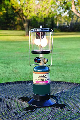 Texsport Double 2 Mantle Propane Lantern for Outdoor Use