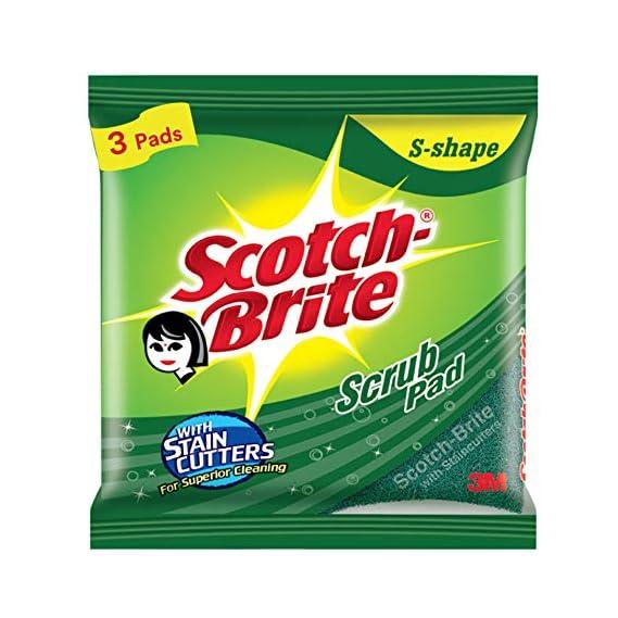 Scotch-Brite Scrub Pad (Regular) - Pack of 3