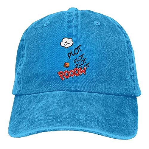Hat Cloud Plot Pooow Denim Skull Cap Cowboy Cowgirl Sport Hats for Men Women