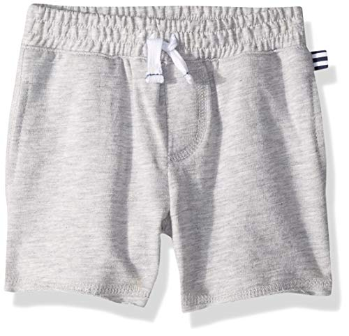 - Splendid Boys Baby French Terry Solid Short, Light Grey Heather 6/12 mo
