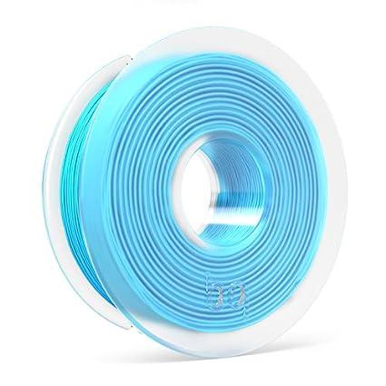 BQ - Filamento PLA de diámetro 1.75 mm, 300 g, Color Topaz Blue ...