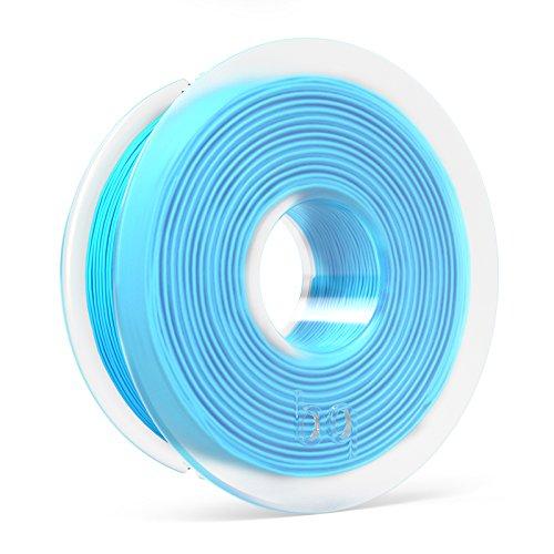 BQ F000128 – Filamento PLA de diámetro 1.75 mm, 300 g, color topaz blue