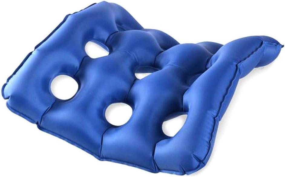 HYYQG cojín Inflable del Aire, Prevención escarificación Cojín ergonómico ortopédico para Espalda Alivio del Dolor en el Punto de presión para sillas d