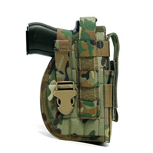 Yisibo-Tactical-Molle-Nylon-Modular-Pistol-Holster-with-Mag-Pouch-for-Right-Handed-Shooters-1911-45-92-96-Glock