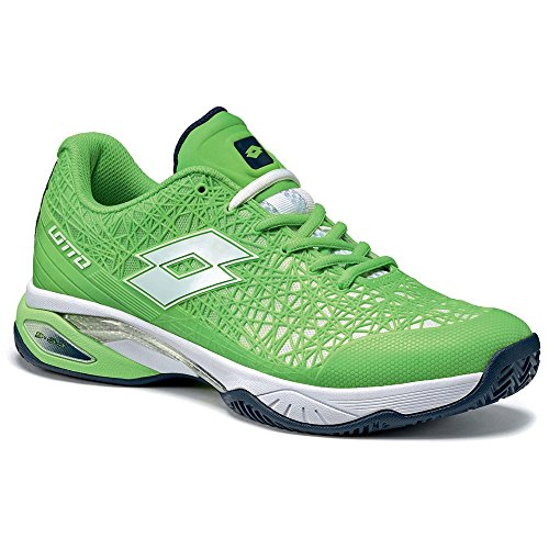 Lotto Men's Tennis Shoes Green Clover Fluo/White 6OMMN