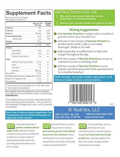 Amazon.com: nutriex Proteínas Premium Proteínas en Polvo ...