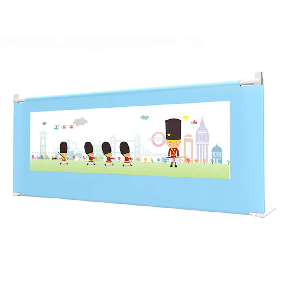 ベッドレール 安全な幼児用ベッドレール、調節可能な子供の幼児の睡眠のためのガードの横に保護、垂直リフトベッドのレール (サイズ さいず : 2m) 2m  B07LDR541D