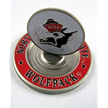 PAC GOLF NCAA METAL POKER CHIP Mondomark Ball Mark Ballmark NORTH CAROLINA STATE