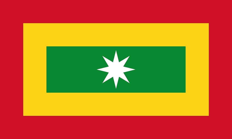 DIPLOMAT-FLAGS Barranquilla, Colombia Bandera | Bandera Paisaje | 0.06m² | 20x30cm Banderas de Coche: Amazon.es: Jardín
