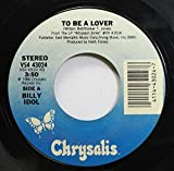 chrysalis 45 RPM to be a lover / all summer single