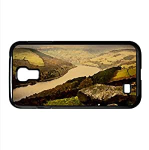 River Valley Watercolor style Cover Samsung Galaxy S4 I9500 Case (Rivers Watercolor style Cover Samsung Galaxy S4 I9500 Case)