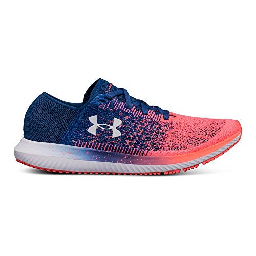 Under Armour Women's Threadborne Blur Running Shoe, Moroccan Blue (401)/Brilliance, 8.5 by Under Armour