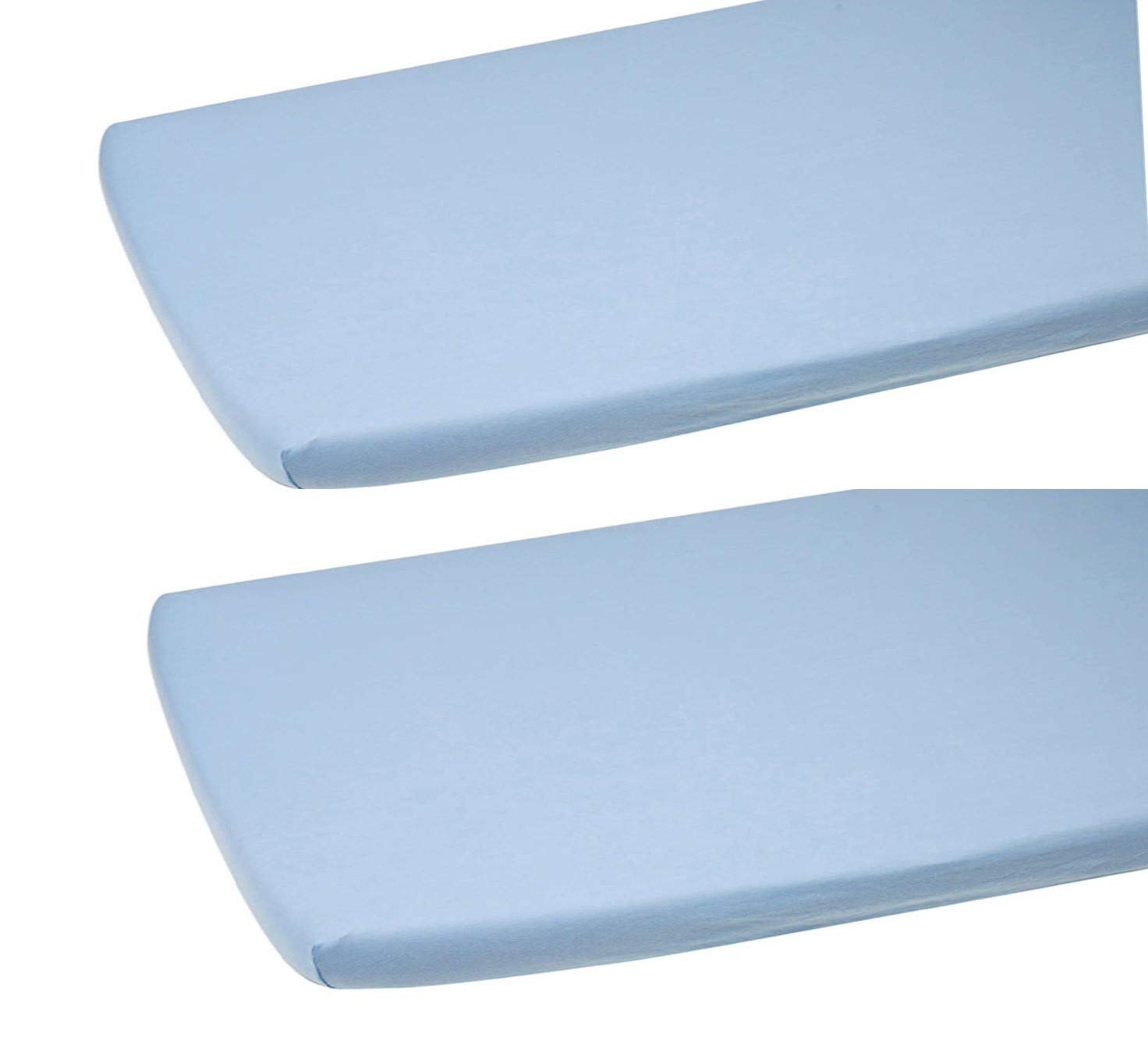 160x80cm, Blue 100/% Cotton Fitted Sheet Many Colours for Baby Crib COT COTBED Junior Bed