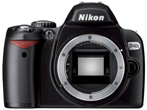 - Nikon D40 X 10.2MP Digital SLR Camera (Body Only)