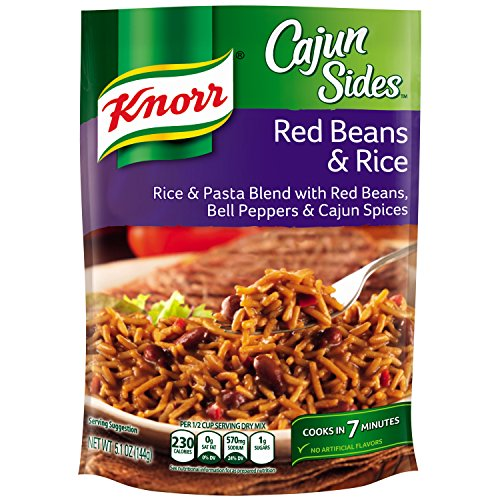 Cajun Small Red Beans - Knorr Rice Sides, Red Beans & Rice 5.1 oz (Pack of 12)