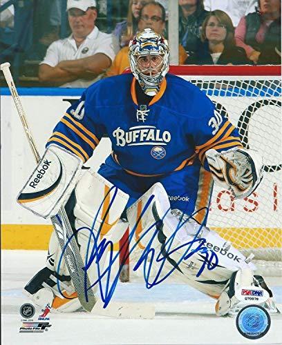 Ryan Miller Buffalo Sabres Autographed Signed 8x10 Photo Autographed Signed PSA/DNA Coa Q70878 (Sabres Signed Nhl Photo Buffalo)
