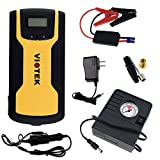 Viotek Emergency Jump Starter / Tire Inflator / Portable Battery with USB Charge Port