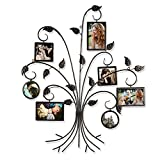 ELEGAN Family Tree Photo Picture Collage Frame (Tree 7 Openings) For Sale