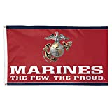 WinCraft United States Military Marines Deluxe Flag, One Size
