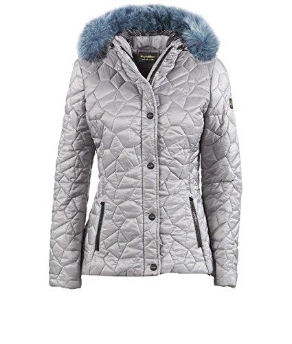 Tejido Natural Para Transpirable Elise Súper Gris Ligero Chaqueta Mujer Refrigiwear wz7gxCqpnY