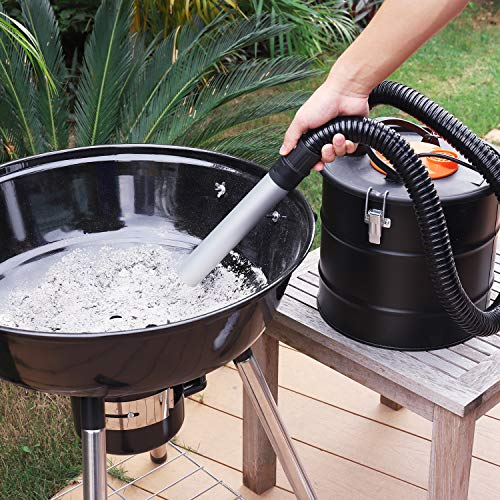 Ash Vacuum, TACKLIFE 800W Ash Vacuum Cleaner Ash VAC Canister 5 Gallon Capacity Bagless Debris/Dust/Ash Collector, Suitable for Fire, Log Burners, Stoves-PVC03A by TACKLIFE (Image #7)