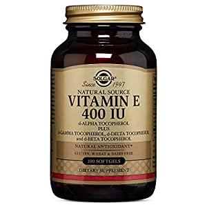 Solgar Vitamin E 400 IU Alpha Softgels