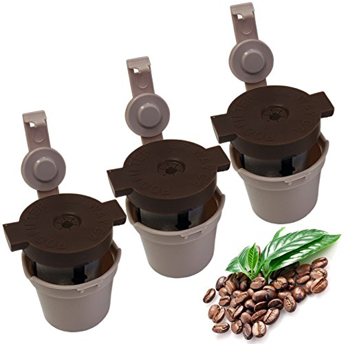 3 Pack Hermetically Sealed Reusable K Cups product image