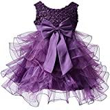 BHL Baby Girl Pageant Dress Organza 9 Month Purple