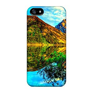 LauraKrasowski SUb55075oPpn Cases Covers Iphone 5/5s Protective Cases Scenic Reflections
