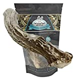 WhiteTail Naturals | Large Premium Deer Antler for Dogs All Natural Antler Chew | Made in USA Dog Chews for Medium and Large Breeds | Long Lasting, Naturally Shed Horn