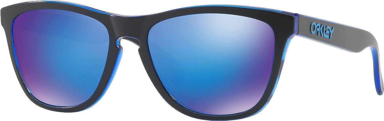 Oakley Frogskins Gafas de sol, Eclipse Blue, 55 para Hombre ...