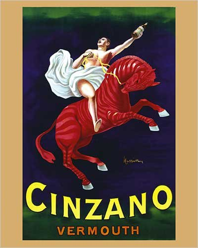 cinzano-vermouth-horseman-on-the-red-horse-vintage-advertising-reproduction-poster-16-x-20