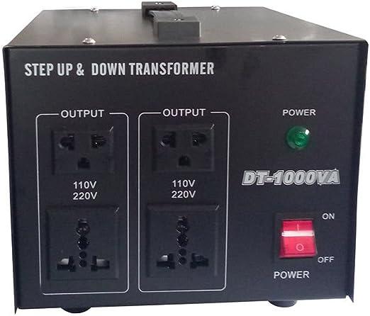 220/V a 110/V Transformador de voltaje de 500/W//1000/W//2000/W corriente de