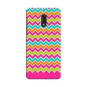 Cover It Up - Jagged Pop Nokia 6Hard Case