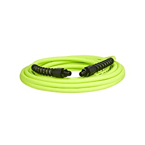 Flexzilla Pro Air Hose, 1/4 in. x 25 ft., Heavy Duty, Lightweight, Hybrid, ZillaGreen - HFZP1425YW2