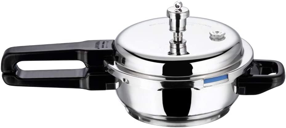 Vinod P-Mini Splendid Stainless Steel Sandwich Bottom Pressure Pan, Mini