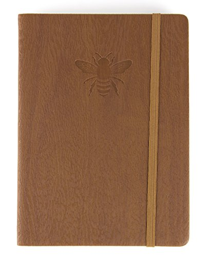 - Red Co Journal with Embossed Bee, 240 Pages, 5