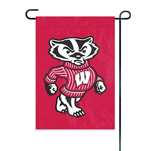 Party Animal NCAA Wisconsin Badgers Garden Flag