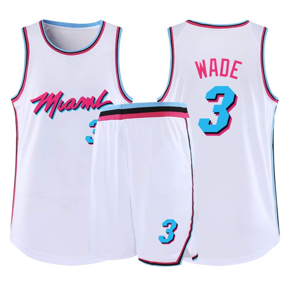 LCY Camiseta de Baloncesto de los Hombres - NBA Jersey Calor Wade ...