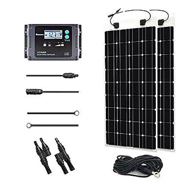 Renogy Solar Marine Kit with Temperature Sensor